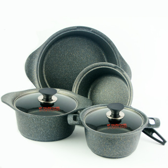 Harga South Korea Imported Kitchen-Art Medical Nonstick Pot 18/20/22/24/26/28 Cm Smokeless