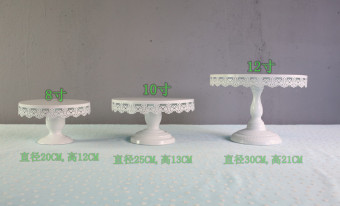 Harga White wedding table cake plate