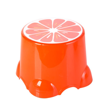 Home home fruit small stool children stool cute plastic stool baby cartoon feet stool thick bench