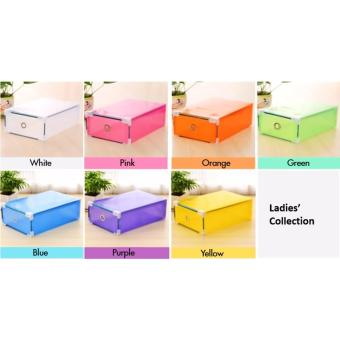 Harga Plastic Shoe Box Cheap