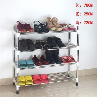 RuYiYu - Amazing Utility Shoe Rack, Shoe Storage Organizer Cabinet Tower, Heavy-Duty and EASY TO ASSEMBLE - intl