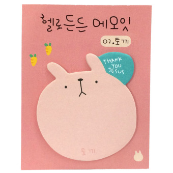 Harga MoMo Peach Sticky Memo Post It Notes Stick Marker (Peach)