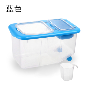 Harga Pest control moisture of rice bucket stockholders box 20/10kg plastic rice bucket meter box rice storage box containing