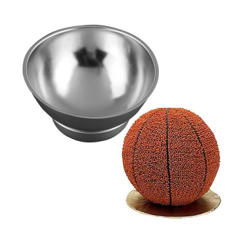 Harga 3D Sport Half Ball Sphere Cake Pan Baking Mold Bakeware Tin Kitchen Mould Tool