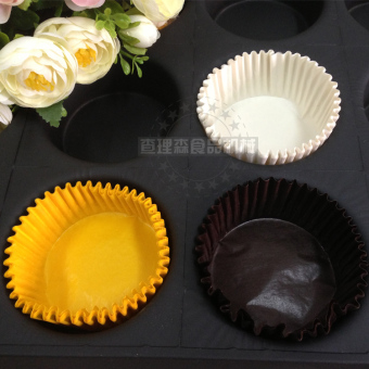 Harga Charlie sen baking/cake greaseproof paper/tray/baking paper/cake cup/pudding cup 24 and even