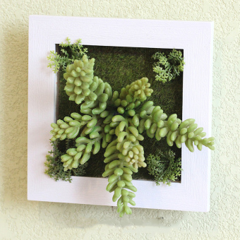 Harga Household faux plant wall decoration