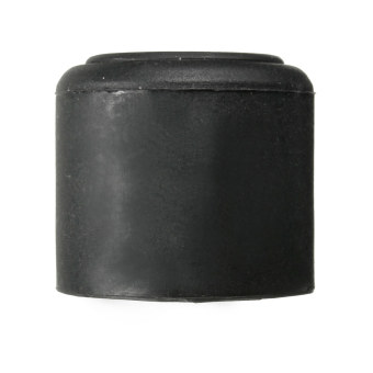 Harga BLACK 28mm Rubber Door Stop Stopper Cylinder Jam Wedge Home Door Floor Holder