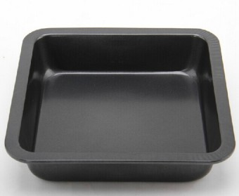 Harga Baking mold 8-inch square baking pan cake mold bread mold pizza pan