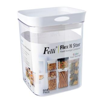 Harga Felli Flex N Stor Food Storage Container With White Lid 1.7l