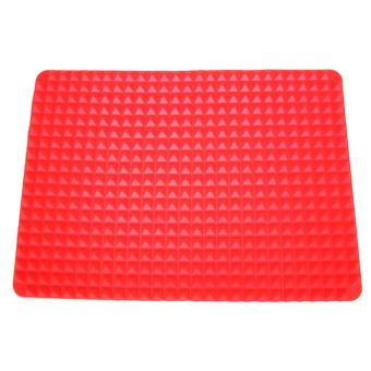 Baking Mat Non-stick Heat Resistant Raised Pyramid Shaped Silicone Pad - intl