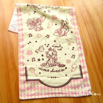 Marie cotton Mary cat towel