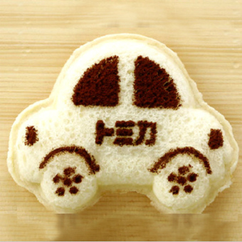 Mini Cute car-shaped sandwich Mold