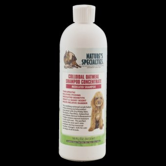Natures Specialties Colloidol Oatmeal Shampoo for Dogs and Cats