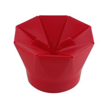 New DIY Popcorn Bucket Microwaveable Popcorn Maker Foldable Pop Corn Bowl Microwave Safe Popcorn Maker Kitchen