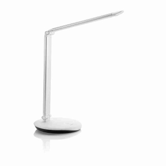 Philips 72007 LEVER table lamp LED silver 1x4.5