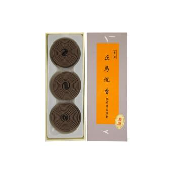 Ren Ting Original Dark Agarwood Incense Coils (2hrs)