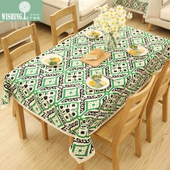 Harga Retro fabric lace custom tablecloth
