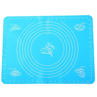 Silicone Baking Mat Non Stick Non Skid Pastry-Mat with Measurements