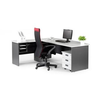 Simply Office Furniture Executive L-Shaped Table Set