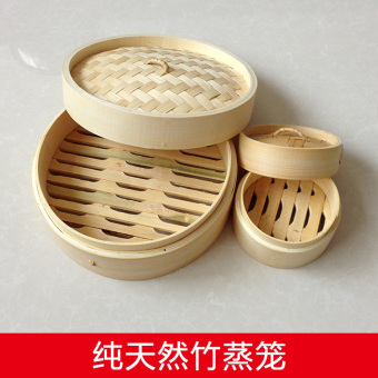 Size small cage buns abalone steamed longti bamboo steamer