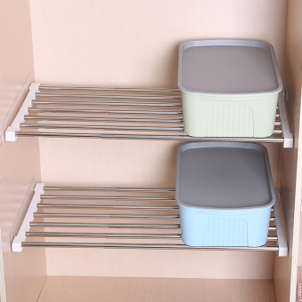 Nail-free Layered Storage Shelf