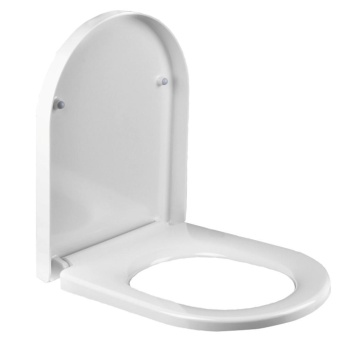 Harga Toilet Seat Slow-Close Molded U thick ring Toilet Seat cover Easy Clean - intl
