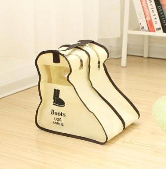 Travel portable boots non-woven cloth shoe covers storage bag cover