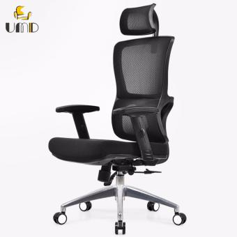UMD Ergonomic High-Back Mesh Chair Q52 black frame (black)