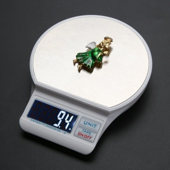 USB Digital Electronic LCD Display Jewelry Scale Calibration/Tare Function Food Weight Scales - intl
