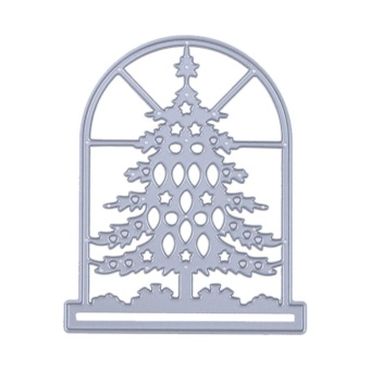Window Tree DIY Metal Stencil Embroidery Craft Cutting Die - intl