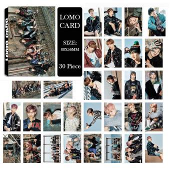 Youpop KPOP BTS Bangtan Boys WINGS YOU NEVER WALK ALONE Photo Album LOMO Cards New Fashion