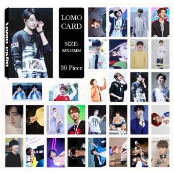 Youpop KPOP GOT7 YoungJae Album LOMO Cards K-POP New Fashion Self Made Paper Photo