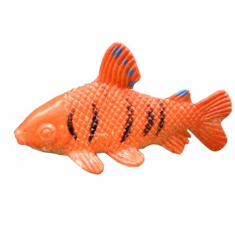 12 pcs Tropical Ocean Fish Pet Figures Toy Gift Sea Life Model Toys PVC Pool Fish Toy Early Education Mini Marine Animals - intl