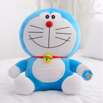 6 Styles 25cm Cute Doraemon Plush Cats Pillow Soft Stuffed Doll Toys For Kids Gifts - intl