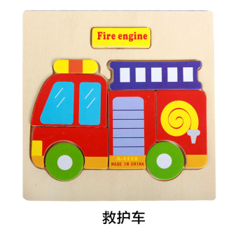 Baobao wooden early childhood toys wooden puzzle