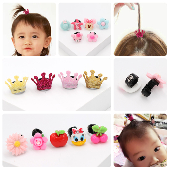 CROWN mini hairpin clip gripper Korean Children's Hair Accessories