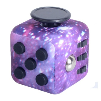 Fidget Cube Stress Reliever Magic Cube J1508P - intl