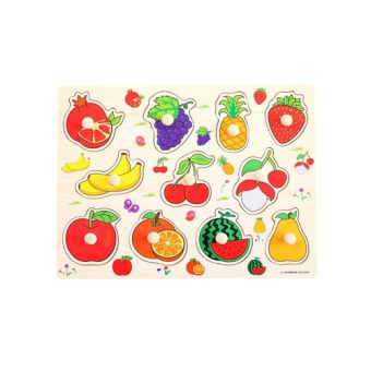 Harga Fruits Peg Puzzle
