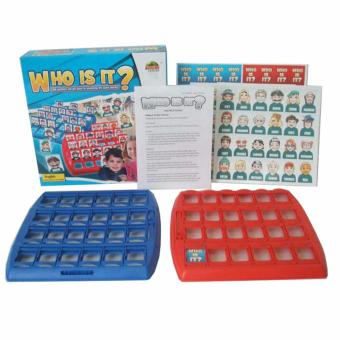 XTV WHO IS IT? Fun Family Kids Party Board Game Logic Reasoning Children Best Gift