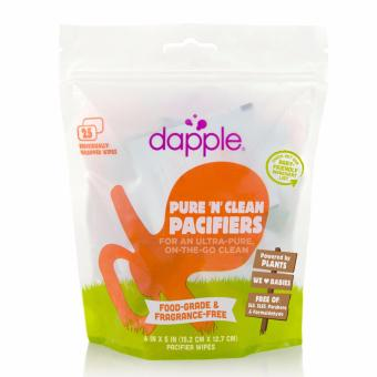 Harga Dapple Baby Food-Grade Pacifier Wipes - 25Ct