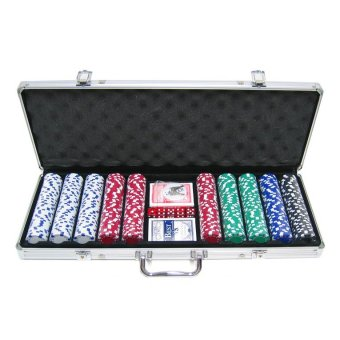 Harga 11.5g 500 Pieces ABS Poker Chips Set