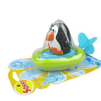 Harga ilovebaby Pull and Go Boat Bath Toy