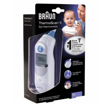 Harga Braun Ear Thermometer ThermoScan 5 IRT6500US