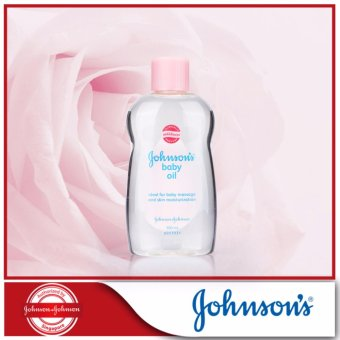 Harga Johnson's Baby Oil Regular 300ml