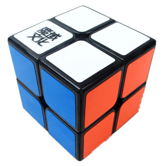 Harga MoYu LingPo 2x2x2 Black Puzzle Cubefor Speed Solving (EXPORT)