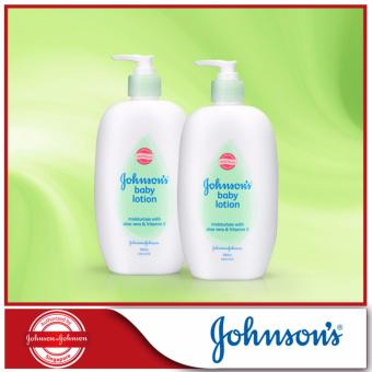 Harga Johnson's Baby Aloe Vera Lotion 500ml x 2pcs