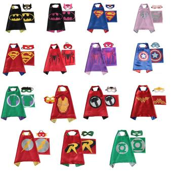 Halloween girls child costumes for kids boys party carnival cosplay baby costume accessories clothing Clothes superhero capes - intl