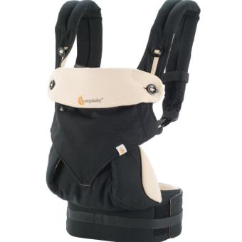 Harga Ergobaby Four Position 360 Baby Carrier – Black/Camel
