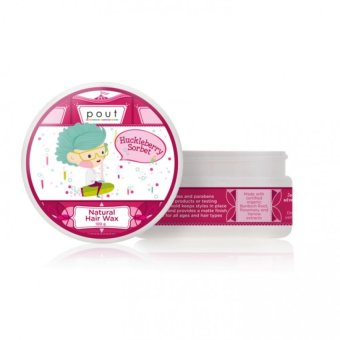 Pout Care Huckleberry Sorbet Natural Hair Wax 100g