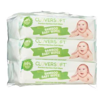 Harga Cloversoft Bamboo Organic Baby Wipes